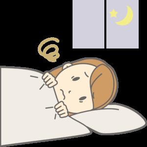 不眠の女性